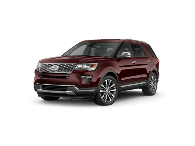 New 2019 Ford Explorer Platinum SUV for sale in Grand Rapids